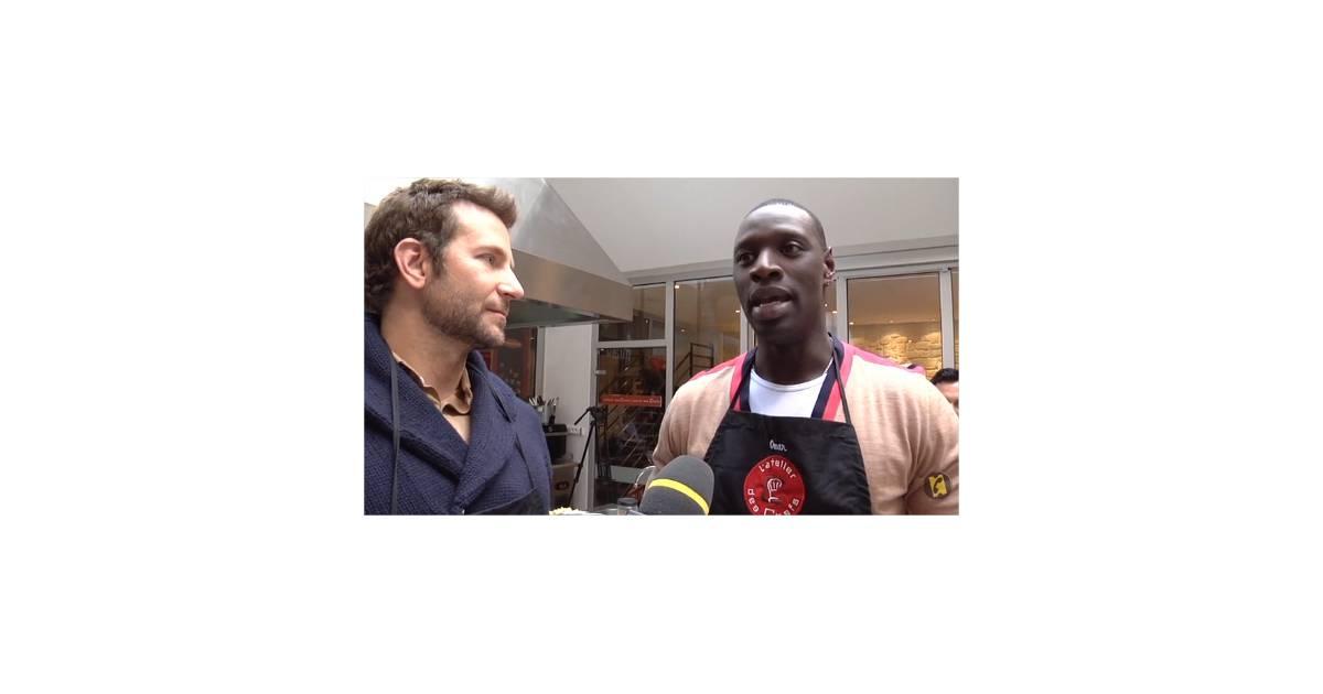 Omar sy et bradley cooper s 39 incrustent dans un cours de for Articles de cuisine paris