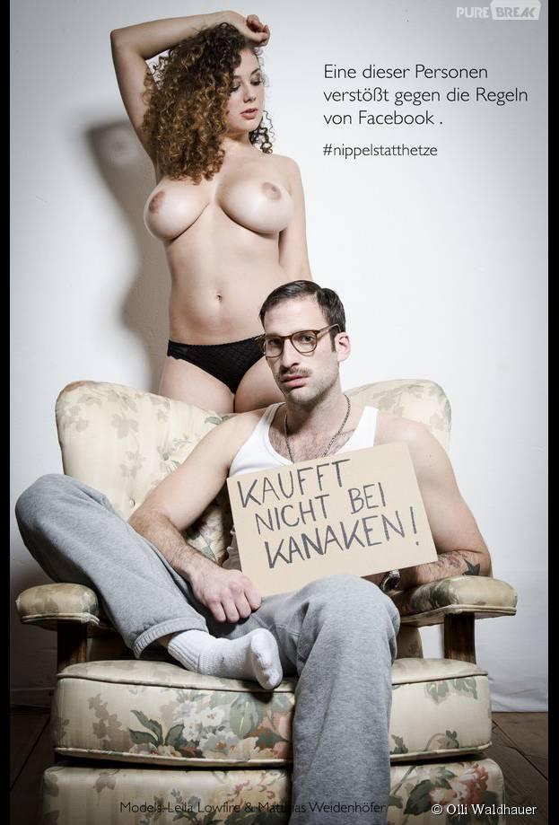 Le photographe Olli Waldhauer défie Facebook et sa règle concernant les photos dénudées