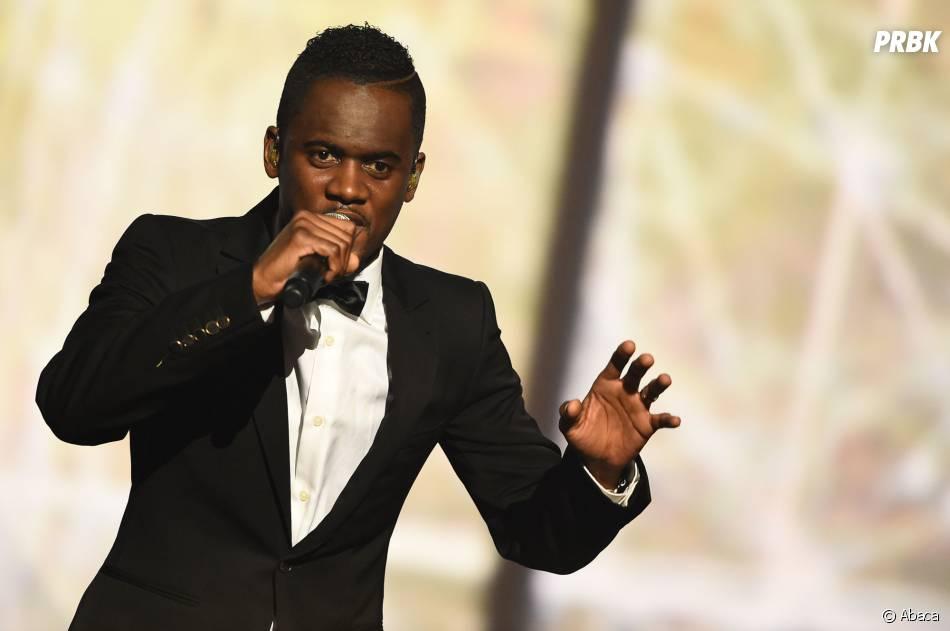 Black M à la cérémonie des Victoires de la musique 2015
