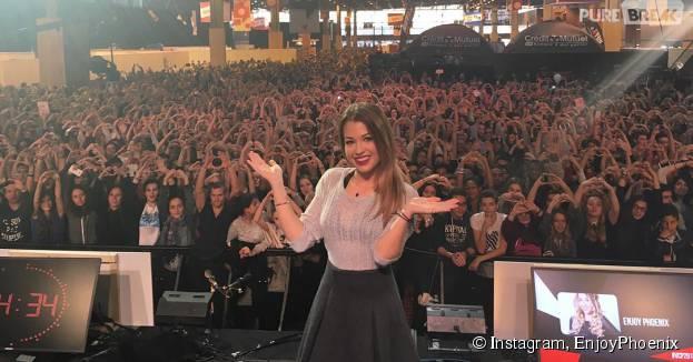 EnjoyPhoenix sur la grande scène du salon Video City, le 8 novembre 2015