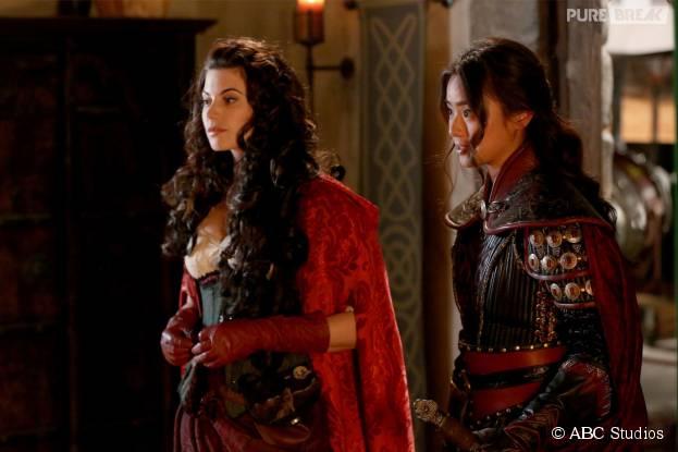Once Upon a Time saison 5, épisode 9 : Mulan et Ruby de retour sur une photo
