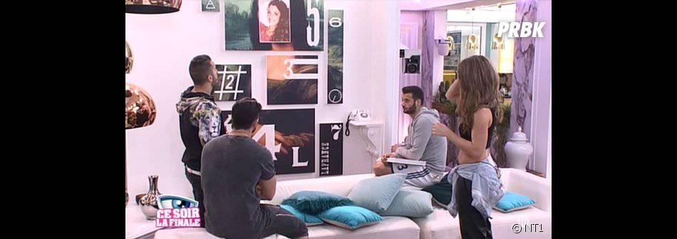 Secret Story 9 : journée souvenirs pour Emilie, Jonathan, Loïc et Rémi dans la dernière quotidienne