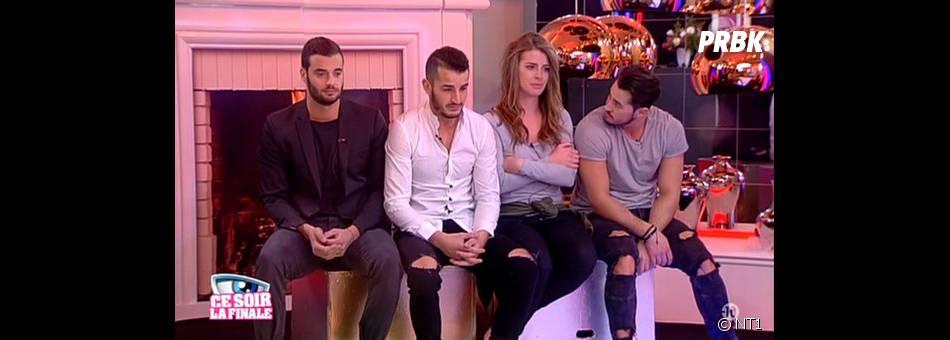 Secret Story 9 : Emilie, Jonathan, Rémi et Loïc émus