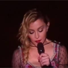 Madonna en larmes : message émouvant et minute de silence en concert après les attentats de Paris
