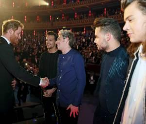 Les One Direction rencontrent le Prince Harry à Londres le 13 novembre 2015