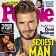 David Beckham homme le plus sexy du monde en 2015 selon People
