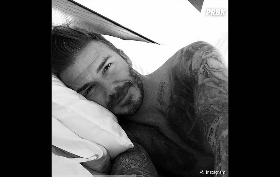 David Beckham sur Instagram pour ses 40 ans avec une photo sexy