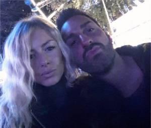 Stéphanie Clerbois et son compagnon Eric