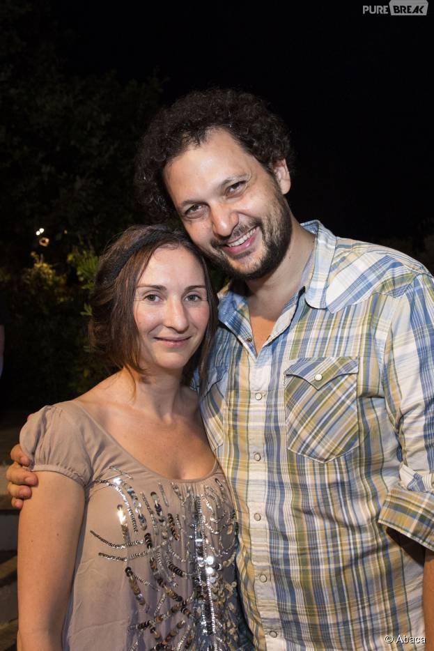 Eric Antoine et sa femme Calista Sinclair