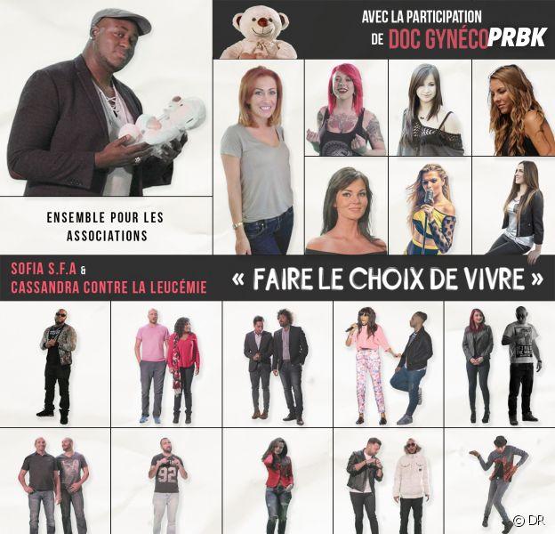 Gaëlle (Les Ch'tis) participe au single Faire le choix de vivre