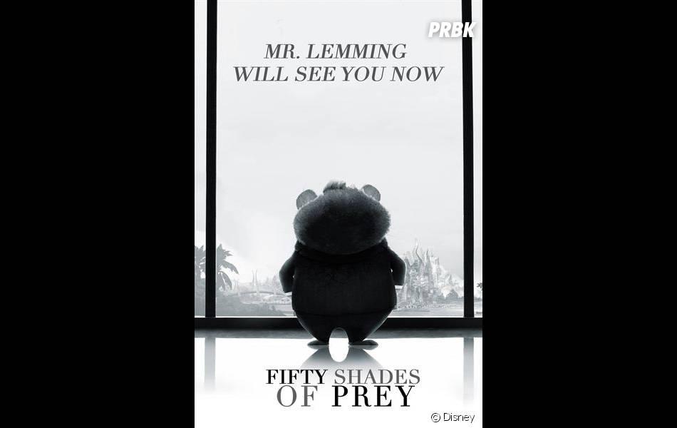 Zootopie parodie Fifty Shades of Grey sur son affiche