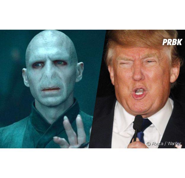 Donald Trump remplacé par Voldemort sur Internet : le buzz de J.K Rowling continue