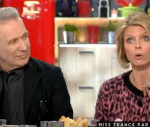 Sylvie Tellier répond aux accusations de chantage dans C à Vous, le 15 décembre 2015