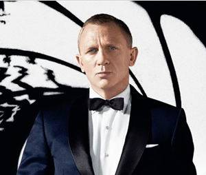 Daniel Craig aka James Bond joue dans Star Wars : le Réveil de la Force