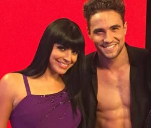 Olivier Dion et Candice Pascal, binôme complice et sexy de Danse avec les stars 6