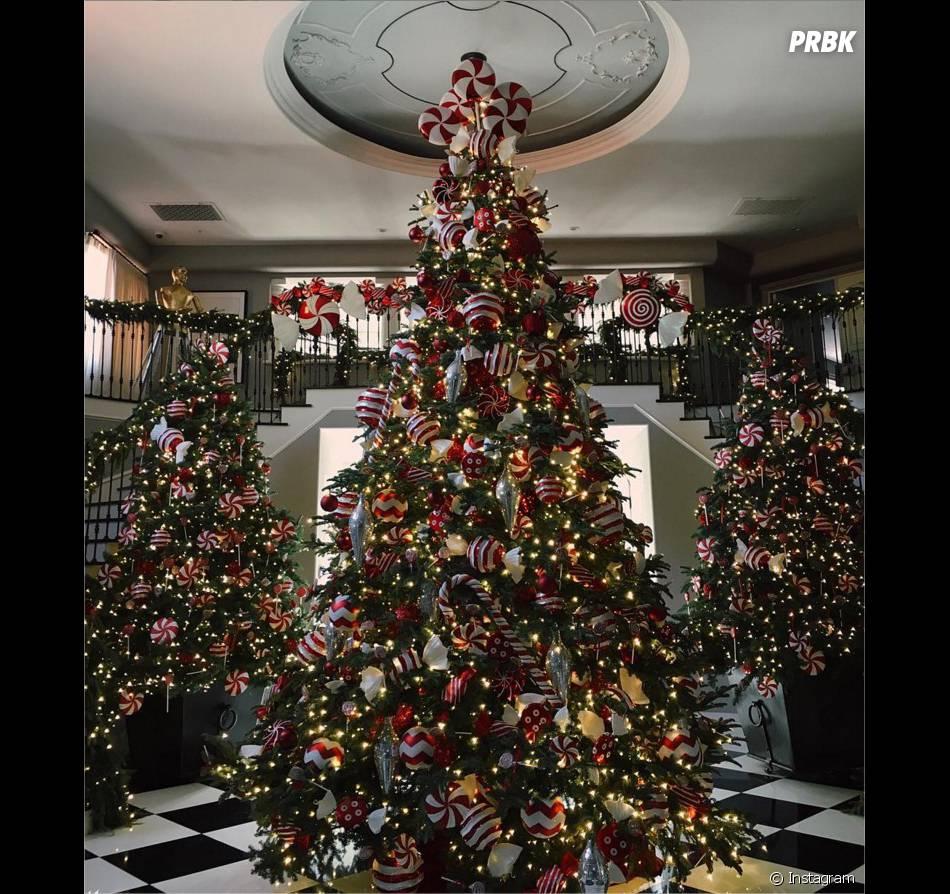 La famille Kardashian fête Noël sur Instagram