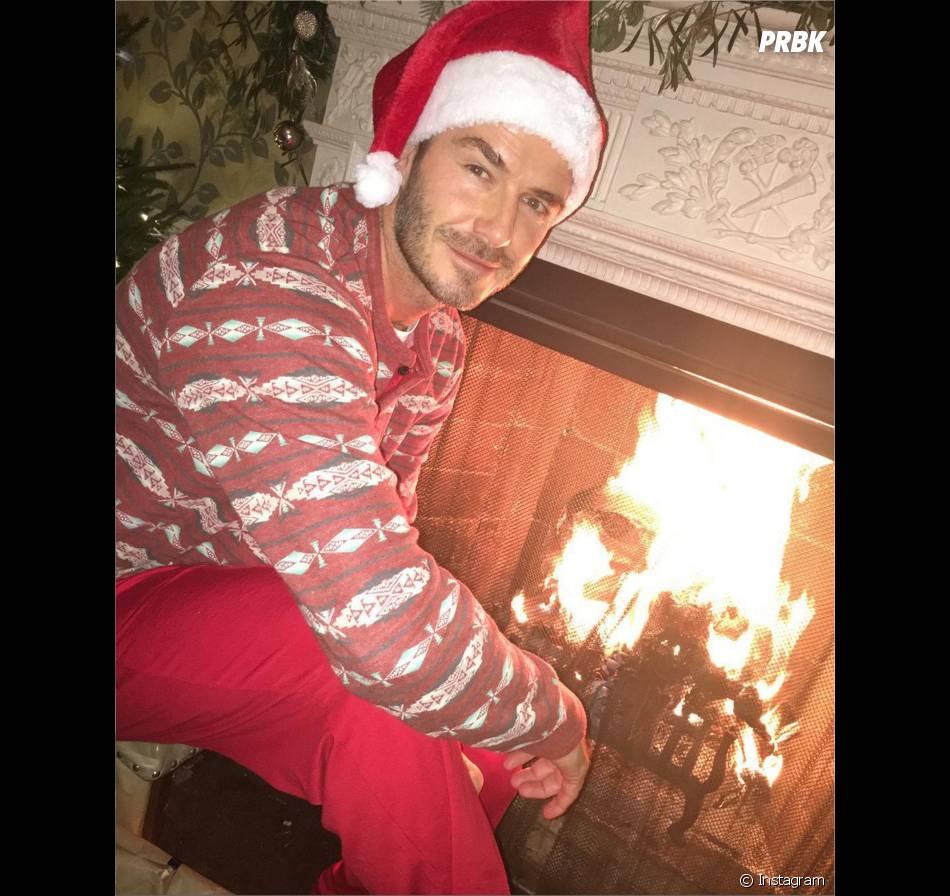 David Beckham fête Noël sur Instagram