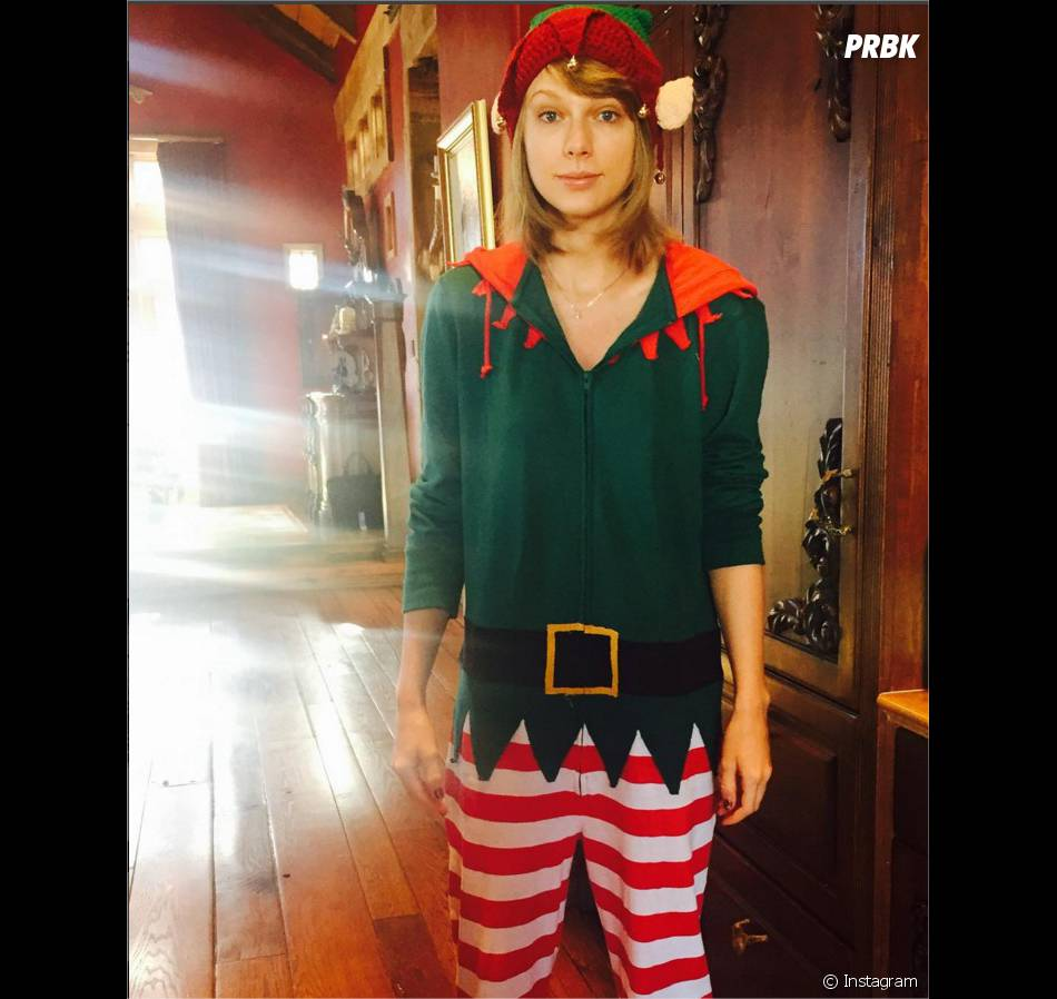 Taylor Swift fête Noël sur Instagram