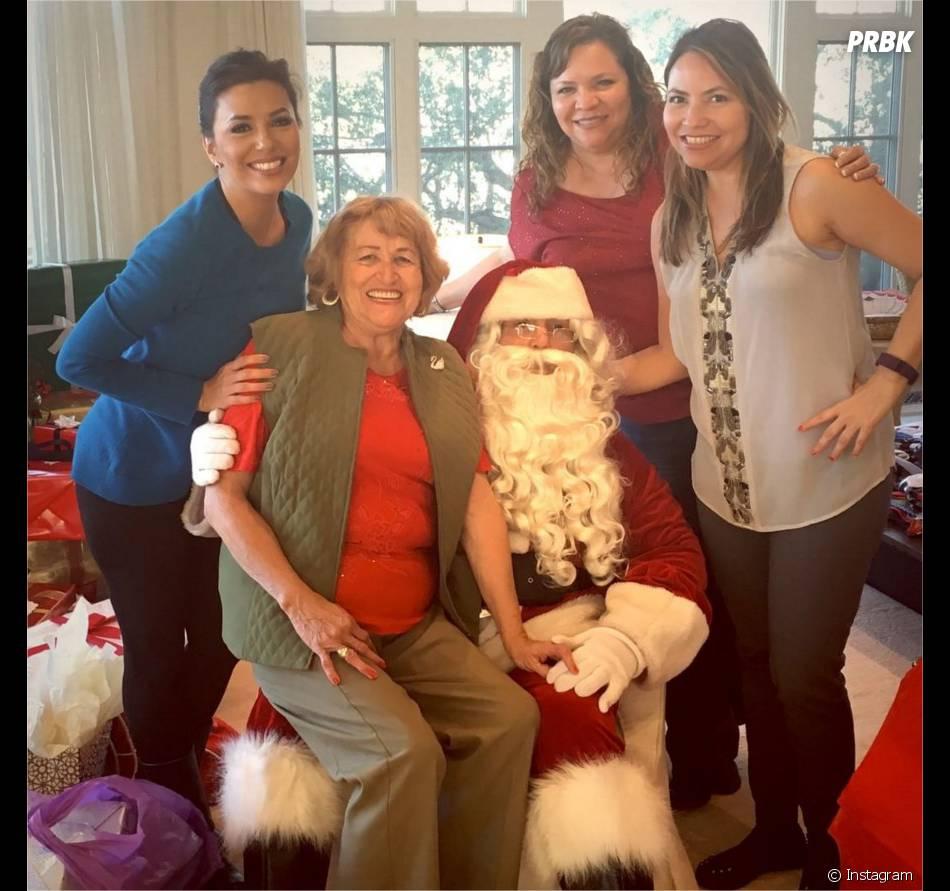 Eva Longoria fête Noël sur Instagram