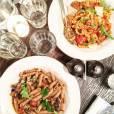 EnjoyPhoenix au restaurant de Jamie Oliver à Londres