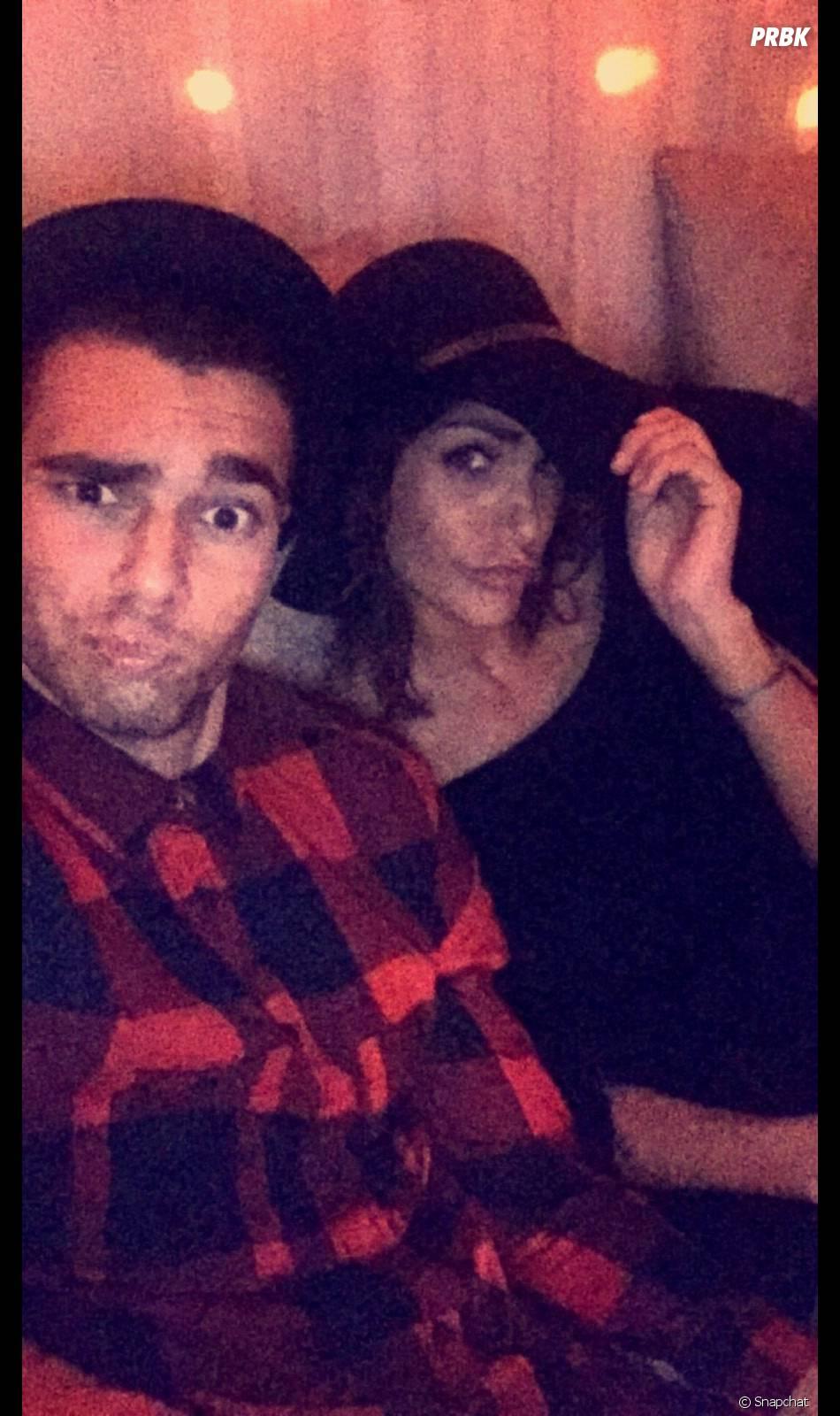 Julia Paredes (Friends Trip 2) en couple avec Mehdi Alvès (Mister Paris 2015)