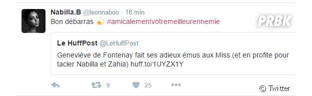 Nabilla Benattia répond au tacle de Geneviève de Fontenay