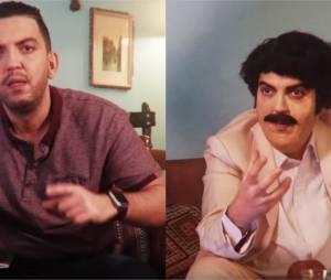Jhon Rachid interviewe Pablo Escobar