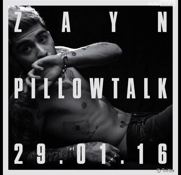 Zayn Malik de retour avec Pillow Talk le 29 janvier 2016