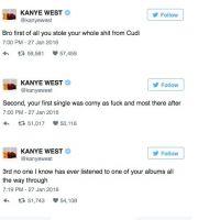 Kanye West VS Wiz Khalifa sur Twitter : Amber Rose s'incruste en reine du tweet game