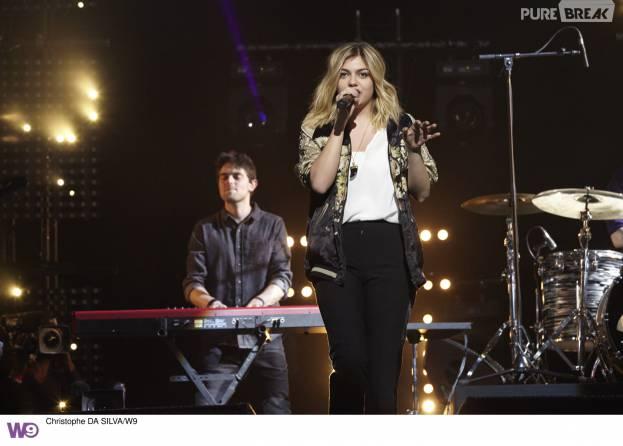 Louane au Prix Talents W9 2016, diffusé sur W9 le samedi 6 février à 23h15