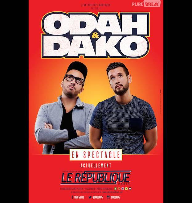 Odah et Dako : les rois de l'impro au Théâtre de la République
