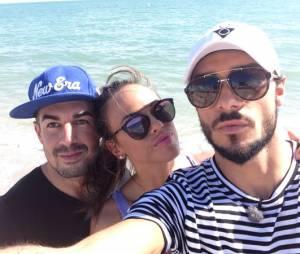 Vanessa Lawrens, Julien Guirado et Matthieu candidats de Friends Trip 2 sur NRJ 12