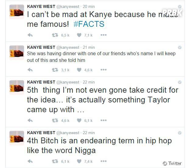 Kanye West explique ses propos sur Taylor Swift après le badbuzz de la chanson Famous