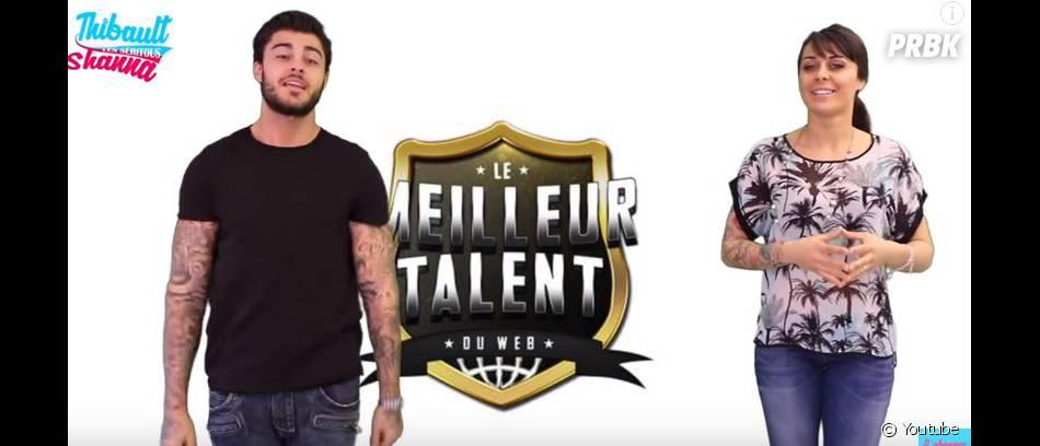 Shanna et Thibault à la recherche du Meilleur Talent du Web