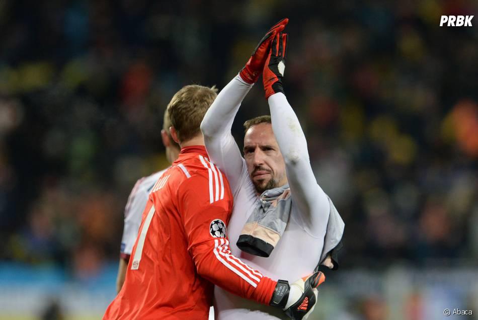 Top 10 des sportifs français les mieux payés : Franck Ribéry (3ème)