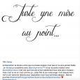 Emilie Nef Naf séparée de Jérémy Ménez : mise au point sur Instagram