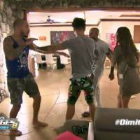 Nicolas vs Dimitri (Les Anges 8) : début de bagarre, Coralie obligée d'intervenir