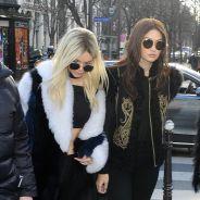 Kendall Jenner blonde et transparente pour Balmain et topless sur Instagram, Matthieu Delormeau fan