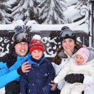 Prince George et Princesse Charlotte adorables sur de nouvelles photos de famille au ski