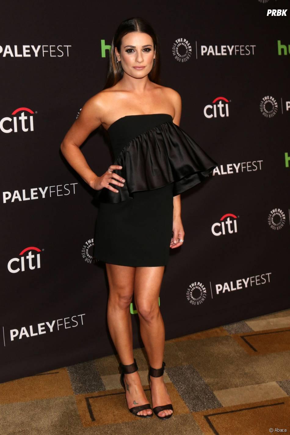 Lea Michele sexy au PaleyFest Center pour un panel sur Scream Queens le 12 mars 2016