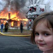 Disaster Girl, la petite fille du même avec l'incendie a bien grandi