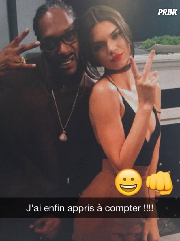 Kendall Jenner débarque sur Snapchat