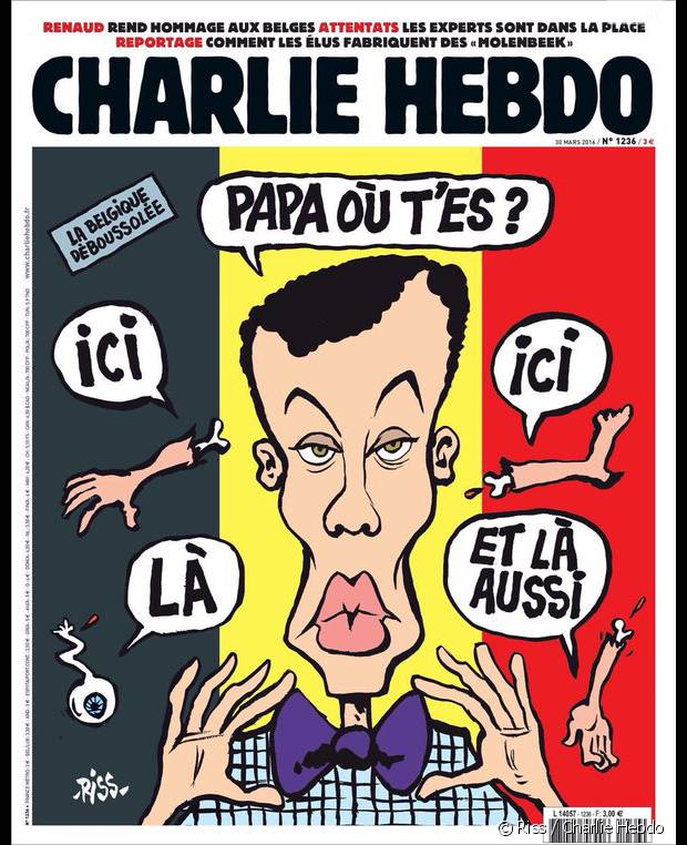La Une de Charlie Hebdo pour les attentats de Bruxelles choque !