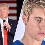 """Justin Bieber """"fan"""" de Donald Trump ? La polémique qui énerve même ses fans"""