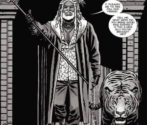 The Walking Dead saison 7 : Ezekiel et son tigre Shiva au casting ?