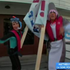 Matthieu Delormeau et Erika Moulet : déguisements ridicules et chanson WTF pour sauver Thalassa