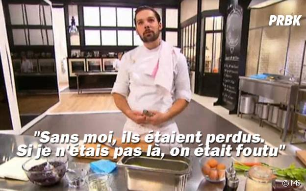 Xavier Pincemin (Top Chef 2016) : les meilleures punchlines