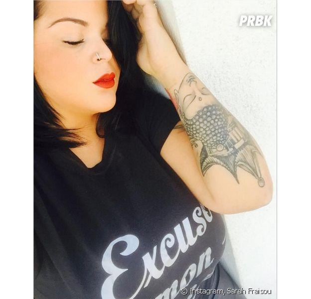 Sarah Fraisou (Les Anges 8) en deuil sur Twitter et Instagram