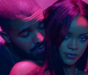 """Rihanna et Drake dans le clip """"Work"""""""