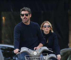 Patrick Dempsey et sa femme à Paris en novembre 2015